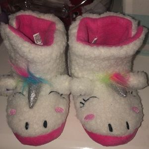 Other - Unicorn toddler slippers!